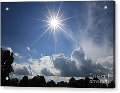 Our Shining Star Acrylic Print