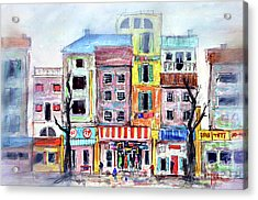 Our Side Of Town Acrylic Print by Tim Ross
