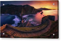 Our Small Wall Of China Acrylic Print