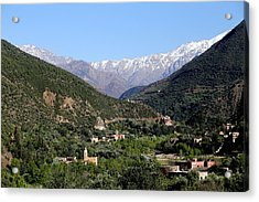Acrylic Print featuring the photograph Ourika Valley 2 by Andrew Fare