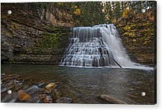 Ousel Falls Acrylic Print by Loree Johnson