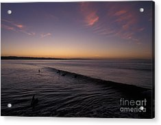 Out Before Dawn Acrylic Print by Stan and Anne Foster