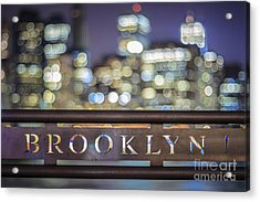 Out Of Brooklyn Acrylic Print
