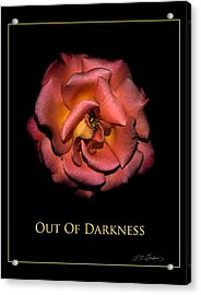 Out Of Darkness Acrylic Print by Richard Gordon