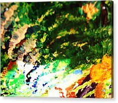 Out  Of Mind  Acrylic Print by HollyWood Creation By linda zanini