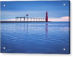 Acrylic Print featuring the photograph Out Of The Blue by Bill Pevlor