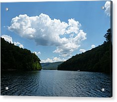 Acrylic Print featuring the photograph Out Of The Cove by Donald C Morgan