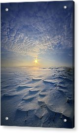 Acrylic Print featuring the photograph Out Of The East by Phil Koch