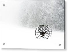 Out Of The Mist A Forgotten Era 2014 Acrylic Print