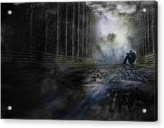 Acrylic Print featuring the photograph Out Of The Storm by Gray  Artus