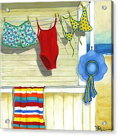 Out To Dry Acrylic Print by Debbie Brown