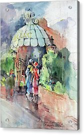 Out To Lunch Acrylic Print