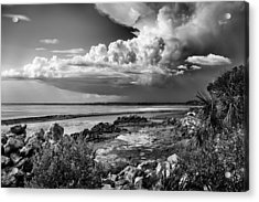 Out To Sea Acrylic Print by Howard Salmon