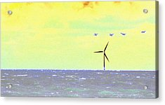 Out To Sea Acrylic Print
