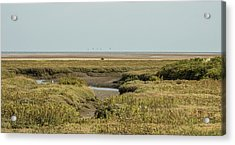 Out To Sea. Acrylic Print