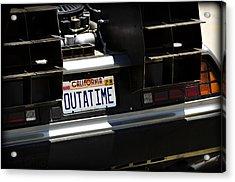 Outatime Acrylic Print
