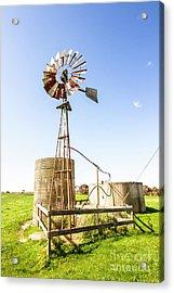 Outback Australian Farm Mill Acrylic Print