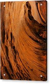 Outback Cavern Acrylic Print by Mike  Dawson