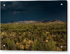 Outback Storm Acrylic Print