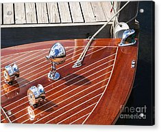 Outboard Runabout Acrylic Print
