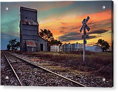 Outdated Acrylic Print by Thomas Zimmerman