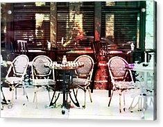 Outdoor Dining In Minneapollis Acrylic Print