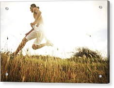 Outdoor Jogging II Acrylic Print by Brandon Tabiolo - Printscapes