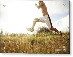 Outdoor Jogging IIi Acrylic Print by Brandon Tabiolo - Printscapes