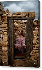 Outdoor Outhouse Acrylic Print