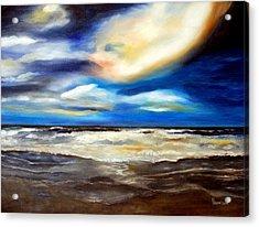Outer Banks Nc Acrylic Print by Phil Burton