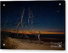 Acrylic Print featuring the photograph Outer Banks Sunrise With Venus And Scorpio by Dan Carmichael