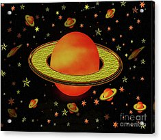 Outer Harvest Moons Acrylic Print