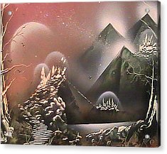 Outer Limits Acrylic Print by My Imagination Gallery