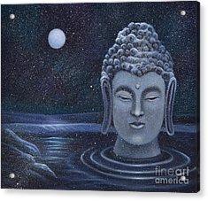 Winter Buddha Acrylic Print
