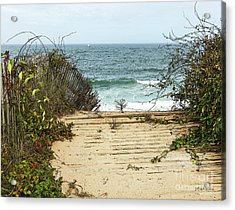 Acrylic Print featuring the photograph Outermost Passage by Michelle Wiarda