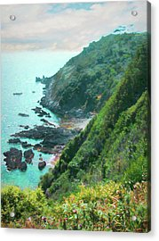 Acrylic Print featuring the photograph South End Of Guernsey by Bellesouth Studio