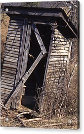 Outhouse1 Acrylic Print by Curtis J Neeley Jr