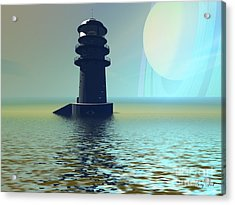 Outpost Acrylic Print by Corey Ford