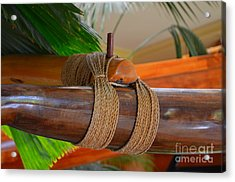 Outrigger Rigging - 4 Acrylic Print