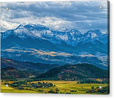 Outside Of Ridgway Acrylic Print
