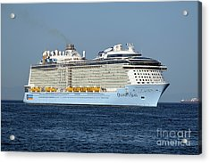Ovation Of The Seas  Acrylic Print