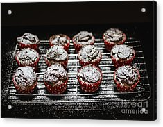Oven Fresh Cupcakes Acrylic Print by Jorgo Photography - Wall Art Gallery