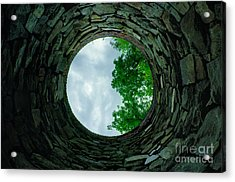 Ovens Long-silenced - Ruins At Old Iron Furnace Site Acrylic Print