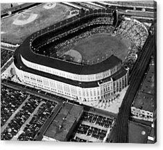 Over 70,000 Fans Jam Yankee Stadium Acrylic Print