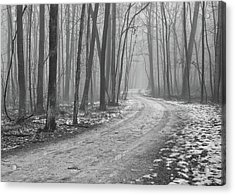 Over River And Through Woods Acrylic Print by N. Vivienne Shen Photography