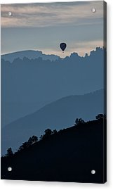 Over The Cimarrons Acrylic Print