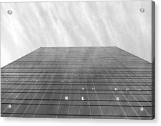Acrylic Print featuring the photograph Over The City by Valentino Visentini