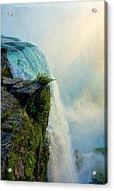 Over The Falls II Acrylic Print