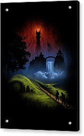 Over The Hill Acrylic Print