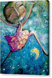 Over The Moon Acrylic Print